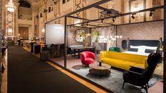 Lebensnah. Innovativ. Erfolgreich.   Design District 1010 Conference Room, Events, Table, Furniture, Design, Home Decor, Life, Meeting Rooms, Interior Design