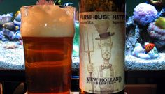 """Henry Deltoid is back for another famous beer review: New Holland """"Farmhouse Hatter"""" - Belgian IPA - ABV: 5.07% - IBU: 53"""