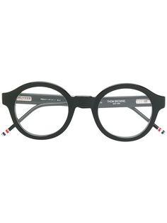 cc2fd7434d06 THOM BROWNE EYEWEAR round frame glasses.  thombrowneeyewear
