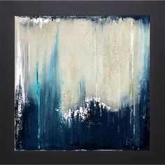 Patricia Pinto 'Blue Illusion I' Framed Art Print | Overstock.com Shopping - Top Rated Prints