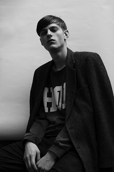 Elvis Jankus at FM Models by Paola Vivas for Boys by Girls.