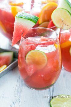Watermelon Sangria - CentsLess Deals