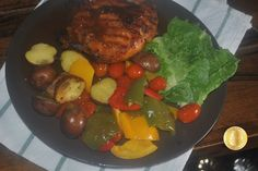 PATY'SKITCHEN: HONEY GLAZE GRILLED CHICKEN AND ROASTED POTATOES A...