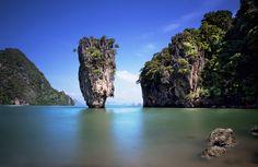 James Bond Island, Phuket, Thailand.