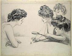 Charles Dana Gibson - The Weaker Sex, 1903.