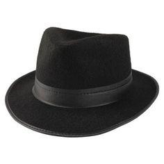$7.99 ---Chicago Costume - Black Fedora Permalux