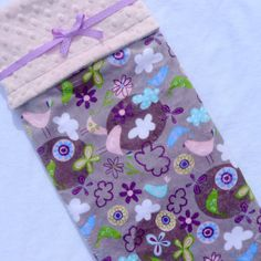 Baby Blanket, Minky Baby Blanket, Pink and Gray, Purple Baby Blanket for Your Baby Girl - READY TO SHIP