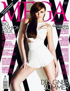 Georgina Wilson - Mega Magazine Cover [Philippines] (April 2013)