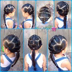 Little Girl Hairstyles Lil Girl Hairstyles, Princess Hairstyles, Beautiful Hairstyle For Girl, Beautiful Hairstyles, Natural Hairstyles, Girl Hair Dos, Kid Hair, Hair Due, Toddler Hair