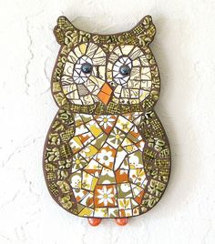 Owl mosaic by valarie