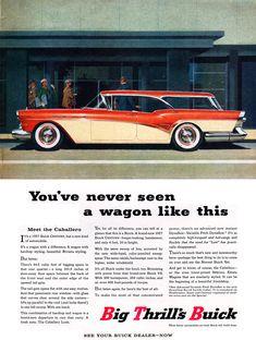 1957 Buick Century Caballero Ad