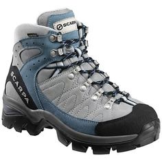 Scarpa Women's Kailash GTX Boot.  The most comfortable hiking boot I have ever used!