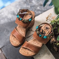 279ae684da46 The ultimate spring break sandals! Let your wanderlusting heart win with  OTBT s Layover platform wedges. OTBT shoes