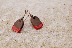 red house earrings | by Cherryhill Studio