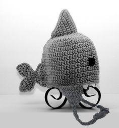 Shark Earflap Hat