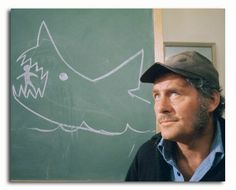 "JAWS | Quint: ""This shark...swallow you whole.  A little shaking, a little tenderizing...down you go."""