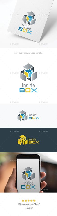Inside Box — Vector EPS #package #clean • Available here → https://graphicriver.net/item/inside-box/17752342?ref=pxcr
