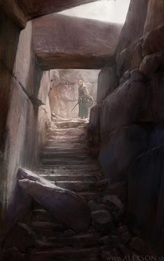 Into the crypt by Alexander Forssberg   Fantasy   2D   CGSociety