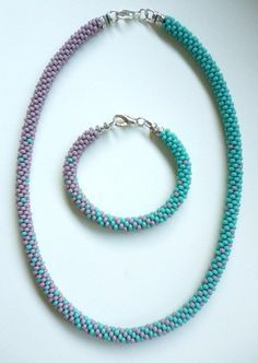 Blended Pattern - Sally Bead Jewelry (Kumihimo)
