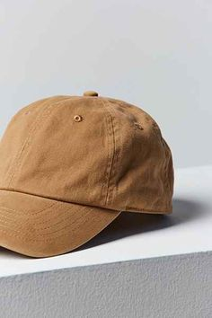 UO Washed Canvas Baseball Hat - Urban Outfitters