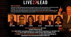 #LIVE2LEAD, stride towards success www.live2leadranchocucamonga.eventbrite.com