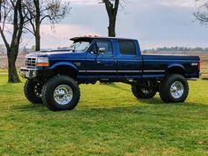 Big Ford Trucks, 79 Ford Truck, 6x6 Truck, Classic Ford Trucks, Old Pickup Trucks, Lifted Chevy Trucks, Diesel Trucks, Cool Trucks, Ford Obs