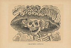 Caravelas literarias are forms of illustrations of important people of the time as skeletons and feature things very recognizable and come with a short poem.