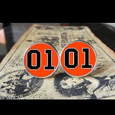 Dukes of Hazard General Lee 01 Logo Desing, Wings Logo, European Football, Classic Tv, Kustom, Cool Logo, Charity, Cufflinks