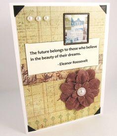 Graduation Card  Inspirational Card  by PrettyByrdDesigns on Etsy, $4.00