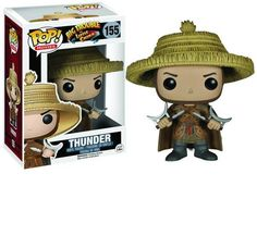 Funko POP Movies: Big Trouble in Little China - Thunder Action Figure From the 1986 cult classic! Stands 3 inches tall Check out the other Big Trouble in Little China figures from Funko! Figurines D'action, Pop Figures, Vinyl Figures, Action Figures, Funko Figures, Vinyl Toys, Funko Pop Vinyl, Comic Book Heroes, Comic Books