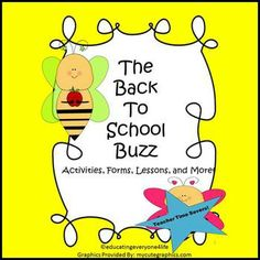 Back To School:  The Back To School Buzz