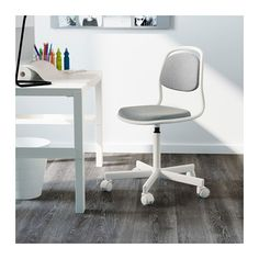 ÖRFJÄLL Child's desk chair IKEA High-quality density foam will keep the chair comfortable for many years to come.