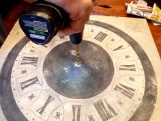 Old World Patina: Tick-Tock It's A Real Clock!