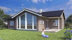 Hus Onyx 1 - moderne. Ferdighus fra HIBA HUS - HIBA HUS