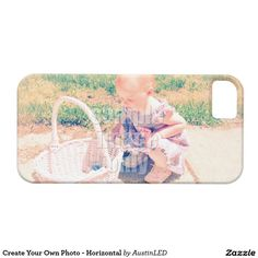 Create Your Own Photo - Horizontal iPhone 5 Covers Designed by AustinLED on www.zazzle.com/austinLED*/.