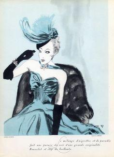 Lambert (Jewels) 1937  Hat Louise Bourbon, Pierre Mourgue