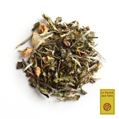 The Des Songes Blanc . Blend of white tea, flowers and fruit. Scents of rose, orange blossom… Orange Blossom, Tea Party, Berries, Strawberry, Delicate, Chocolate, Ethnic Recipes, Flowers, Food