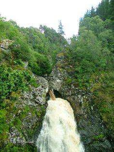 Falls of Foyer near Loch Ness, Scotland