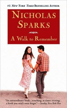 A Walk To Remember by Nicholas Sparks There was a time when the world was sweeter. Not really a big Nicholas Sparks fan, but this is one of my favorite books. Nicholas Sparks Books, Books To Read, My Books, Walk To Remember, Remember Movie, Romance Novels, Great Books, Amazing Books, Love Book