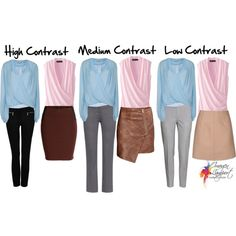 A fashion look from November 2014 featuring blue top, jones new york tops and gray pants. Browse and shop related looks.
