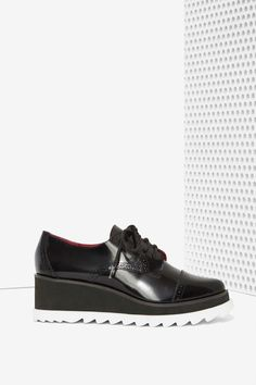 Sixty Seven Harper Leather Oxford | Shop Shoes at Nasty Gal