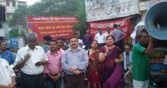 Als Protest gegen die Wirtschaftspolitik der Regierung demonstrierten bis zu 150 Millionen Menschen in Indien nach einem Aufruf von 10 Gewerkschaften. Es geht hierbei auch um höhere Mindestlöhne in dem armen Land.