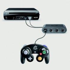 Nintendo lanzará adaptador para conectar los controles de GameCube en el Wii U y poder jugar con ellos Super Smash Bros. para Wii U.