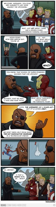 The Avengers: Don't try to be rational about it.