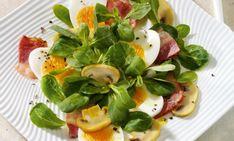 Osterrezept - Feldsalat mit Champignons und Balsamicodressing