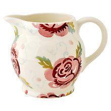 Emma Bridgewater Pottery, Rose Cottage, Tea Pots, Bee, Pattern, Milk Bottles, Climbing Roses, Ss16, Kitchen Stuff