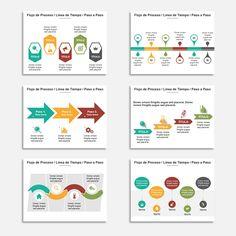 Plantillas para Power Point con 150 diapositivas y una amplia variedad de elementos 100% editables. Los días de las presentaciones aburridas están contados.