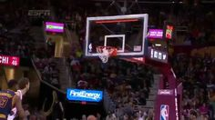 Kyrie Irving's Amazing Half Court Shot | Bulls vs Cavaliers | April 5, 2...