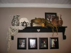 redid this wall !what a difference but alot of work!
