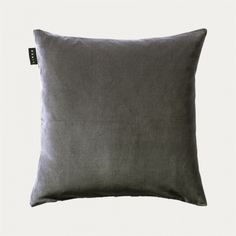 Marcel Cushion Cover – Granite Grey | Cushion covers | Essentials | Living | Linum